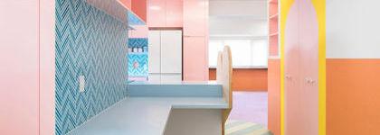 Sept décorations qui utilisent à merveille la couleur