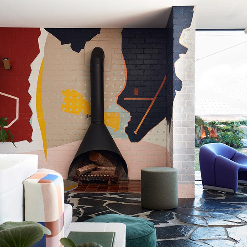 Maison Polychrome, Australie, par Amber Road et Lymesmith